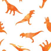 Dinos // orange