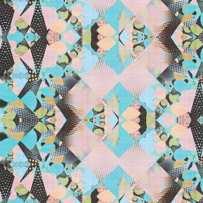 polka dot patch mix