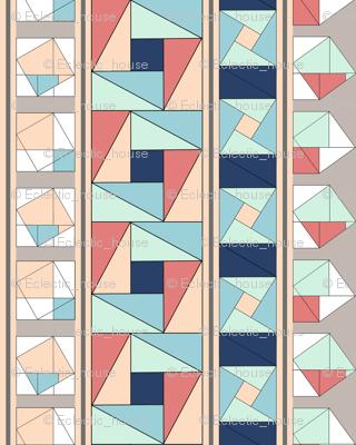 Pythagorean Stripes,Vertical