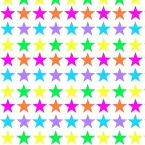 Bright Rainbow Stars