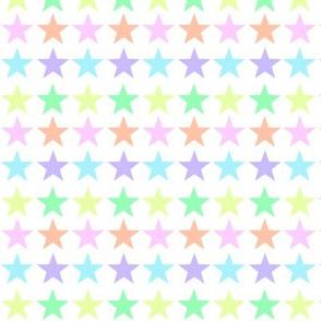 Pale Rainbow Stars