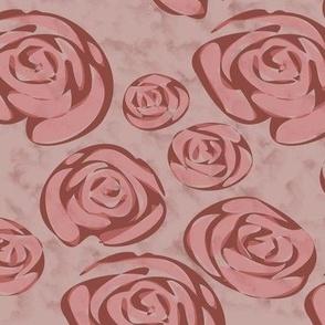Marsala Roses