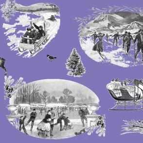 Winter_Toile Violet
