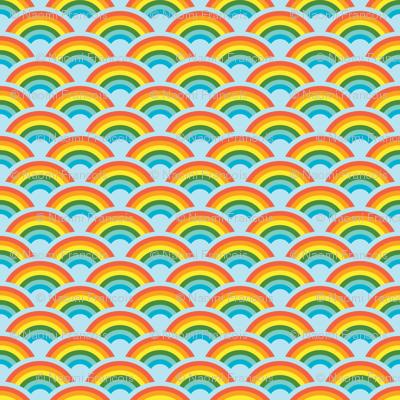 Rainbows! Rainbows! Rainbows! (light blue)