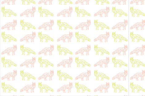 foxpaper_taliaheck fabric by taliaheck on Spoonflower - custom fabric