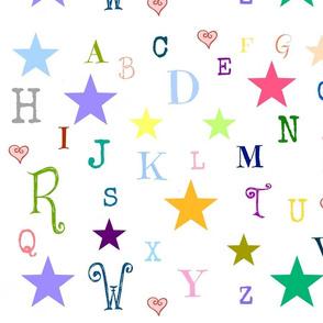 ABC stars -large