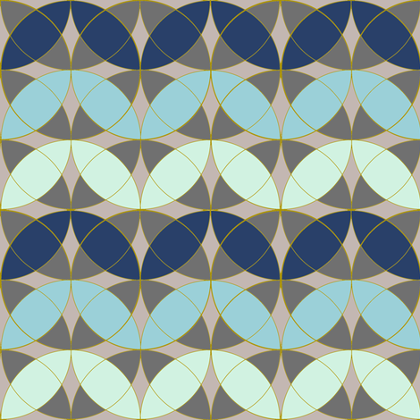 Trendy Curved Chevrons fabric by eclectic_house on Spoonflower - custom fabric