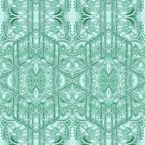 Twisted Mint Geometry