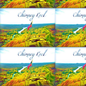 Above Chimney Rock