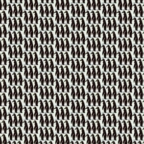 Tiny marching penguins