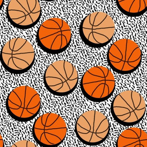 Basketballs - Sports by Andrea Lauren