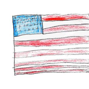 Luke's United States flag