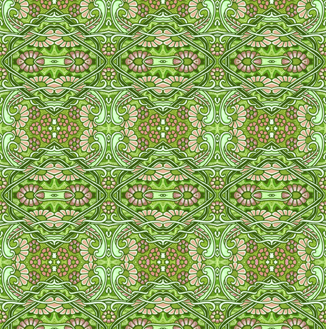 Carpet of Flowers fabric by edsel2084 on Spoonflower - custom fabric