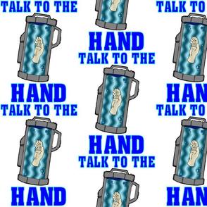 The Doctors hand