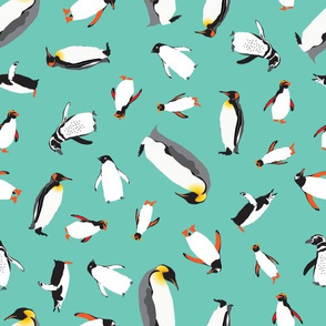 Penguin Frolic