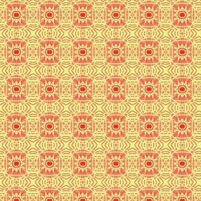 Yellow and Red Stars
