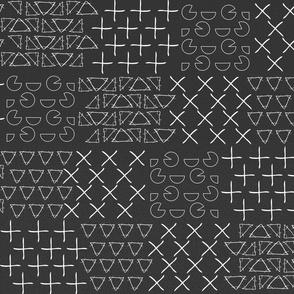 Chalkboard Patchwork Math