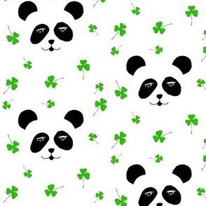 panda st patrick´s day