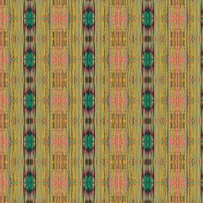 Fence 2, Indian summer Ikat