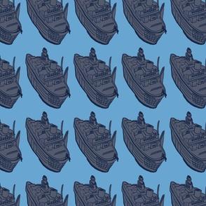 SHIPS BLUE