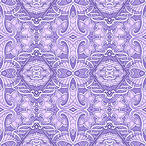 The Soft Lavender Underbelly of the Beast fabric by edsel2084 on Spoonflower - custom fabric