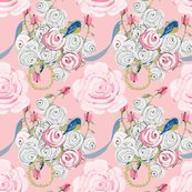 Shabby_chic_rose_bouquet_with_ribbons_on_pink_revised_shop_thumb
