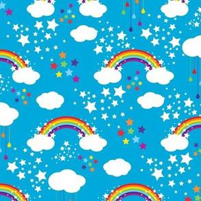 Rainbow Starlight - Teal