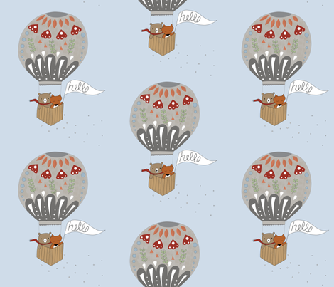 Hot Air Terrarium fabric by kathrinlegg on Spoonflower - custom fabric
