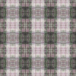 Tweedy faux plaid pink