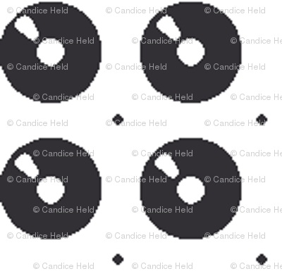 Vinyl Grid Dot- small