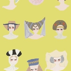 Medieval Headdresses