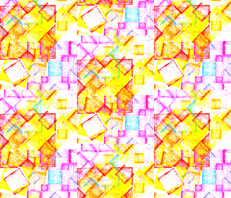 Tumble Blocks fabric by abstractionsbyronda on Spoonflower - custom fabric