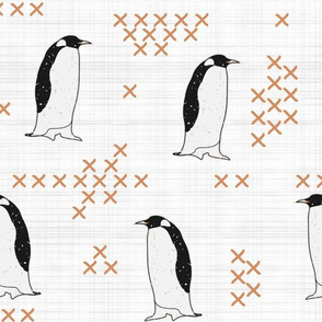 Cross Stitch Penguins