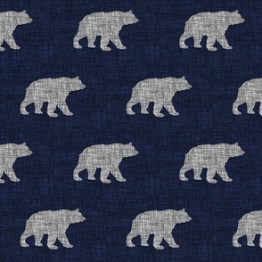 Small Bears - navy