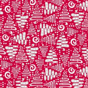 Silver Tree Fabric