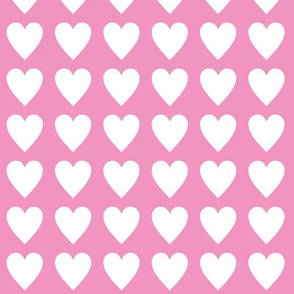 Hearts -pink