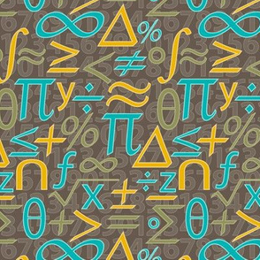 Jazzy Math Symbols