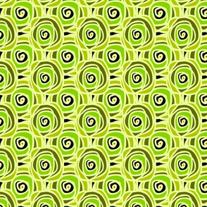 Bed of Roses Lime MED Swirl