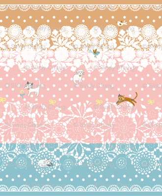 Dream cats -Lace