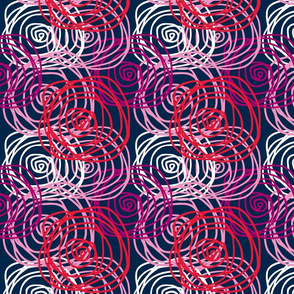 Bed of Roses-Spring Swirl