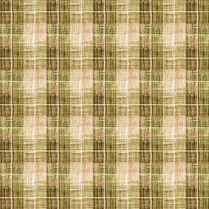 Tweedy faux plaid tan