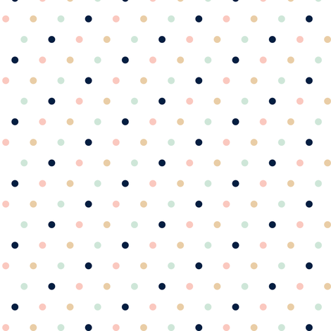 Multi Dot // Briar Woods fabric by littlearrowdesign on Spoonflower - custom fabric