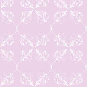 Falling leaves lavender