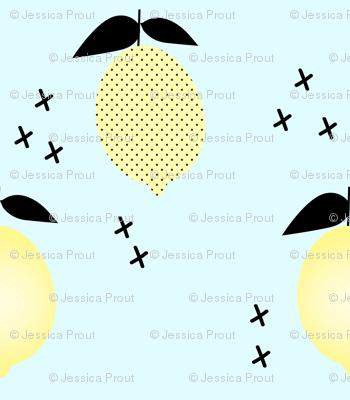 Lemons // blue