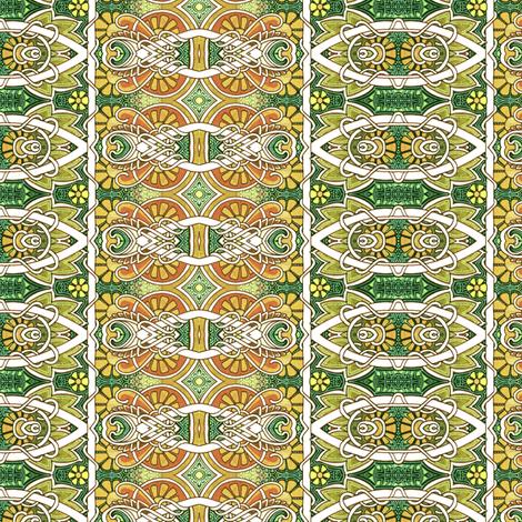 Ups A Daisy fabric by edsel2084 on Spoonflower - custom fabric
