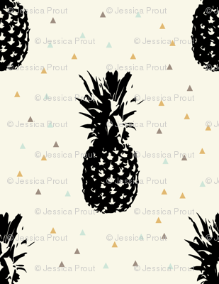 Pineapples // Golden