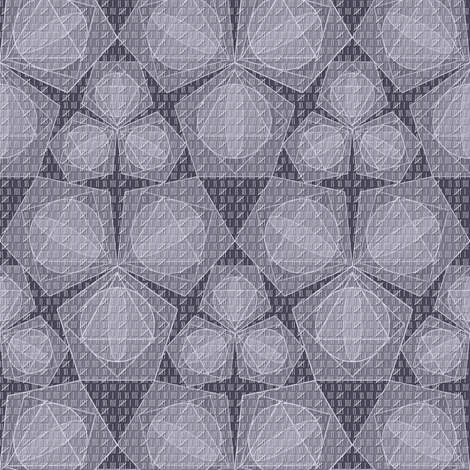 mathematical progressions purple mist fabric by glimmericks on Spoonflower - custom fabric