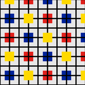 Plaid 2 for men who like Mondrian by Su_G