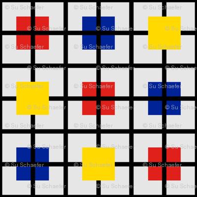 Plaid 2 for men who like Mondrian by Su_G