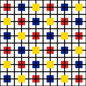 A plaid for Mondrian by Su_G
